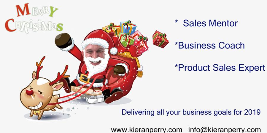 Happy Christmas from Kieran Perry The Cheshire Business Mentor - whats on your business wish list for 2019
