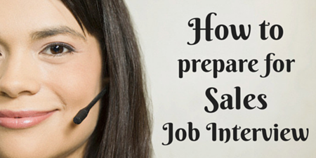 Sales Job Interview Tips