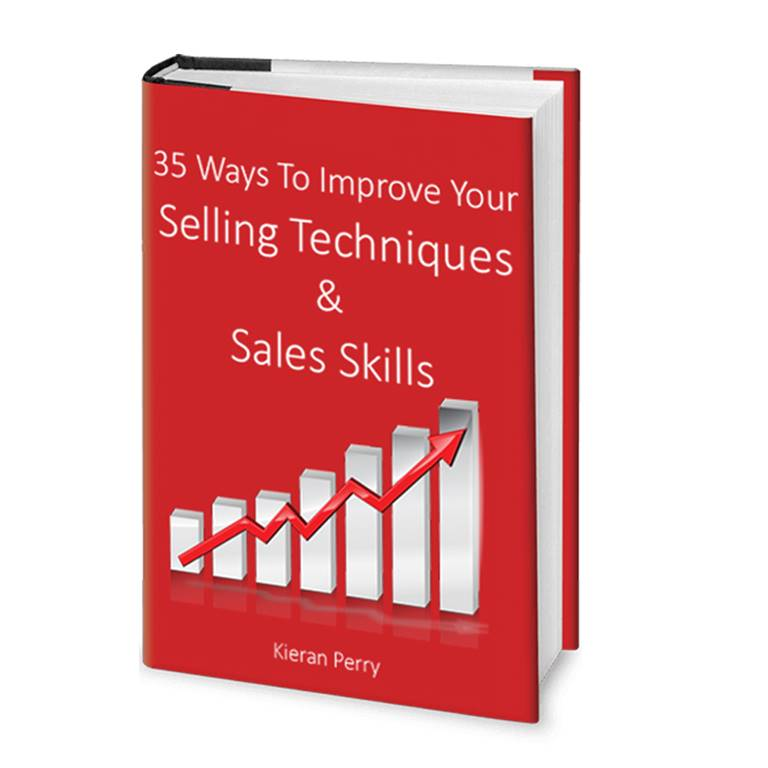 35 Ways To Improve Your Selling Techniques And Sales Skills - Ebook